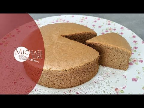 Coffee Cotton Sponge Cake - YouTube