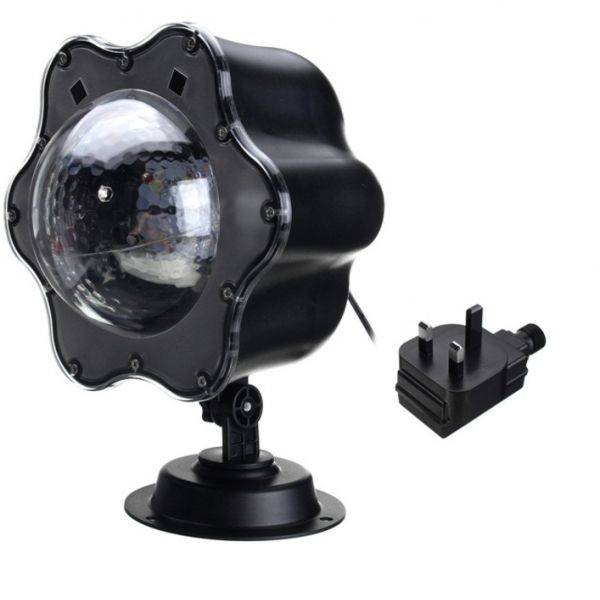 Led Snow Falling Outdoor Stage Moving Projector Laser Light Uk Plug Laser Lights Outdoor Stage Fall Outdoor