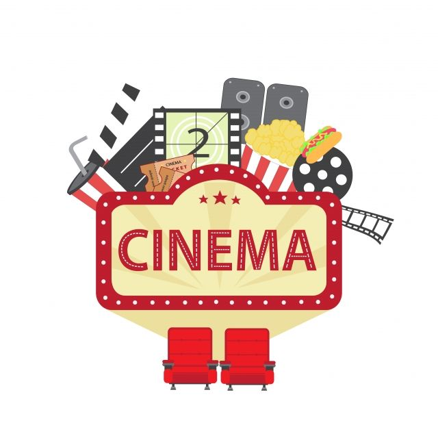 Cinema Vector Illustration Icon Cinema Entertainment Png And Vector With Transparent Background For Free Download Vector Illustration Icon Set Design Logo Design Free Templates