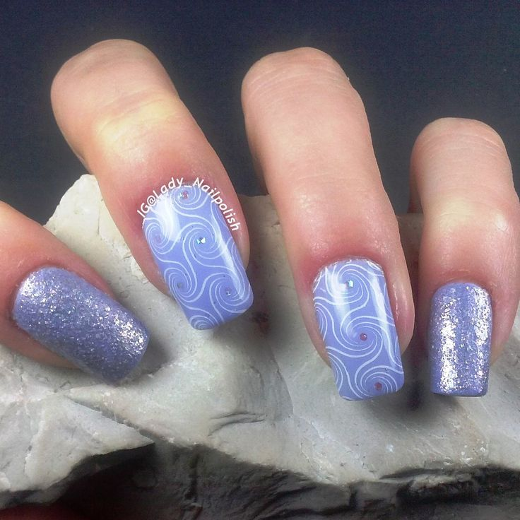 BP - L 003 : Violet Swirl Manicure http://ladynailpolishnathalie.blogspot.com/2015/02/bp-l-003-violet-swirl-manicure.html  INSTAGRAM: @ladynailpolishnathalie