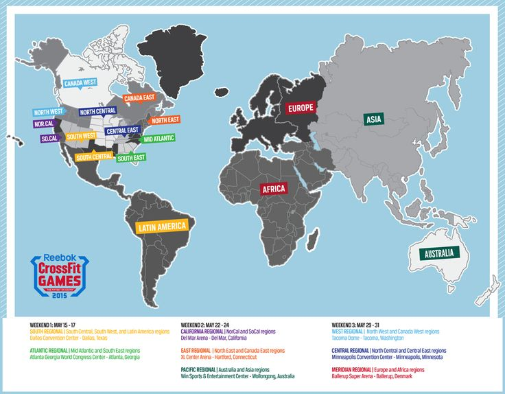 2015 Regional Venues Announced | CrossFit Games