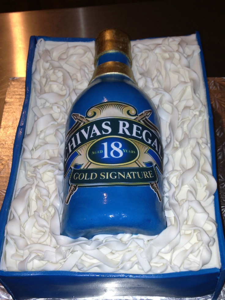 Chivas Regal Cake | My Cakes and Cupcakes | Pinterest | Cakes