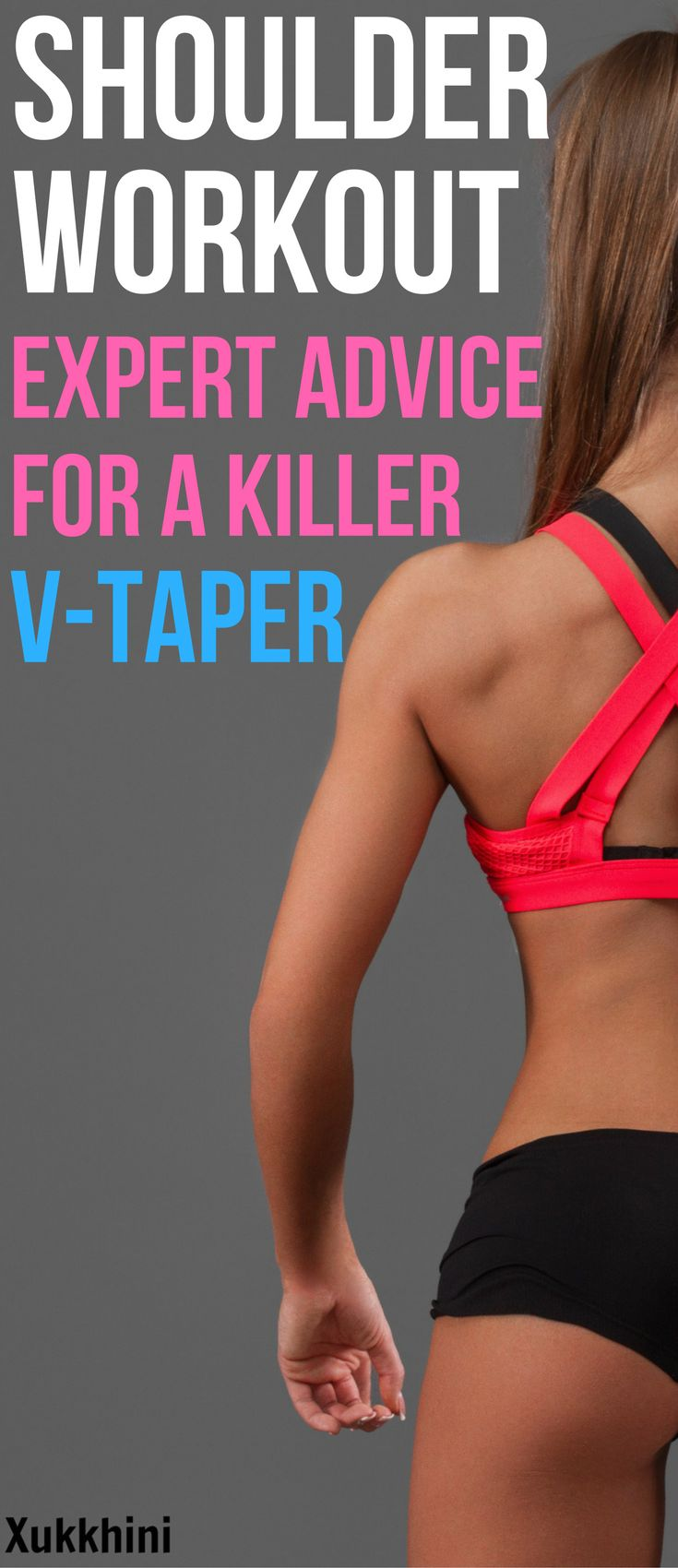 Building size to your side delts will give you a fantastic V-taper and the appearance of a trim waist! Even if you have narrow or medium shoulder width, you can pack on extra width with these side delts exercises #ShoulderWorkout | Strength Training for Women | Strength Training for Shoulders | Muscle Building | Bodybuilding