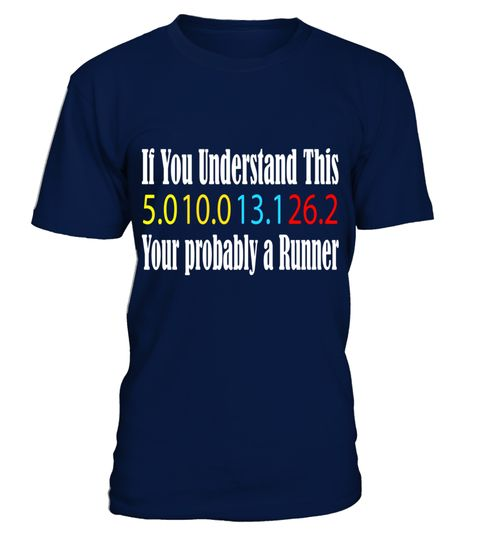 If you understand 5k - Marathon Your probably a Runner Shirt