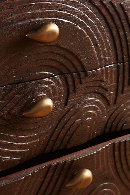 Saffir Teardrop Three-Drawer Dresser - anthropologie.com