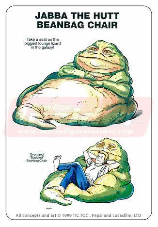 Jabba the hutt beanbag chair
