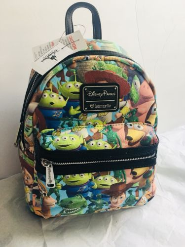 New Disney Parks Toy Story Mini Backpack by Loungefly   Disney 2018 ... 9d249058053