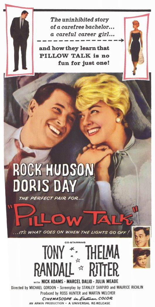 <3 Pillow Talk! <3 Love a good Doris Day & Rock Hudson movie!