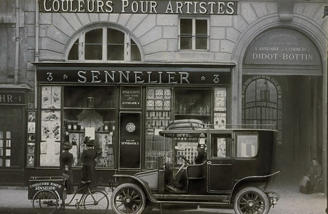 Magasin Sennelier Paris