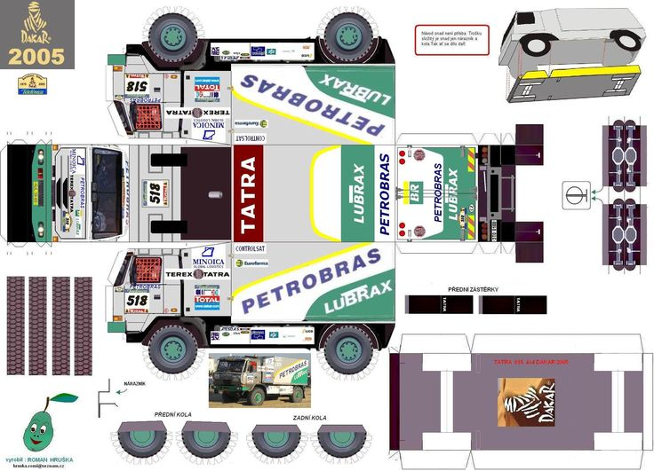 Truck Paper Model Papercraft   Index of /modely
