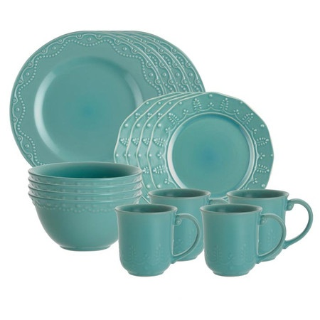 I pinned this 16 Piece Whitaker Dinnerware Set from the Design Bloggers Conference event at Joss and Main!