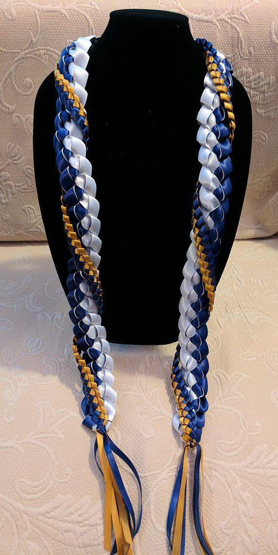 Ribbon Lei – Open Style – #lei #Open #Ribbon #Styl…