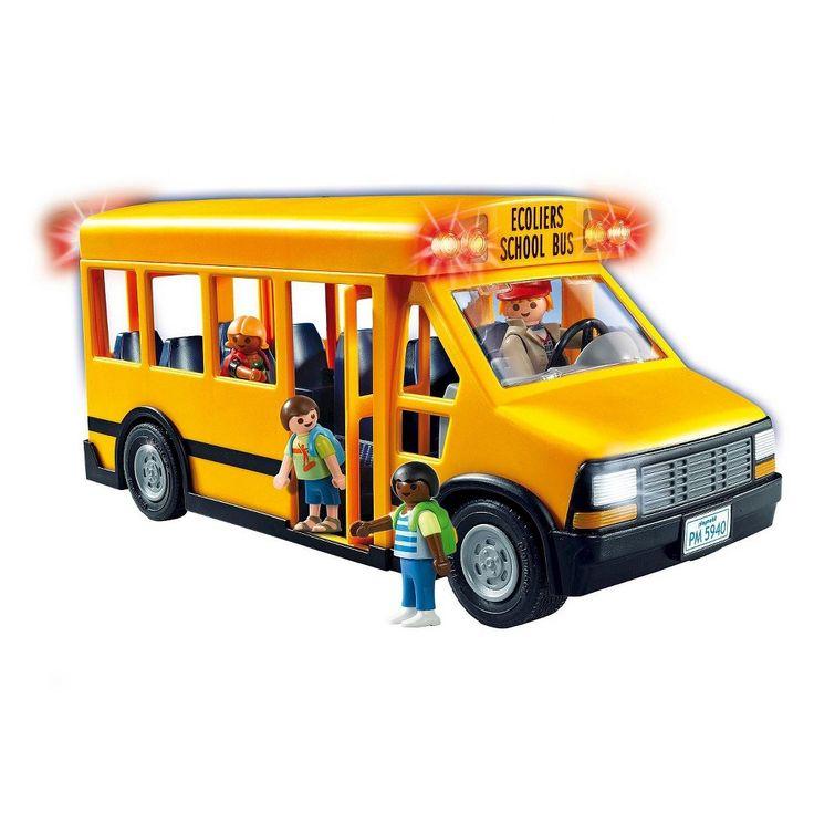 25+ Best Ideas About Playmobil Bus On Pinterest