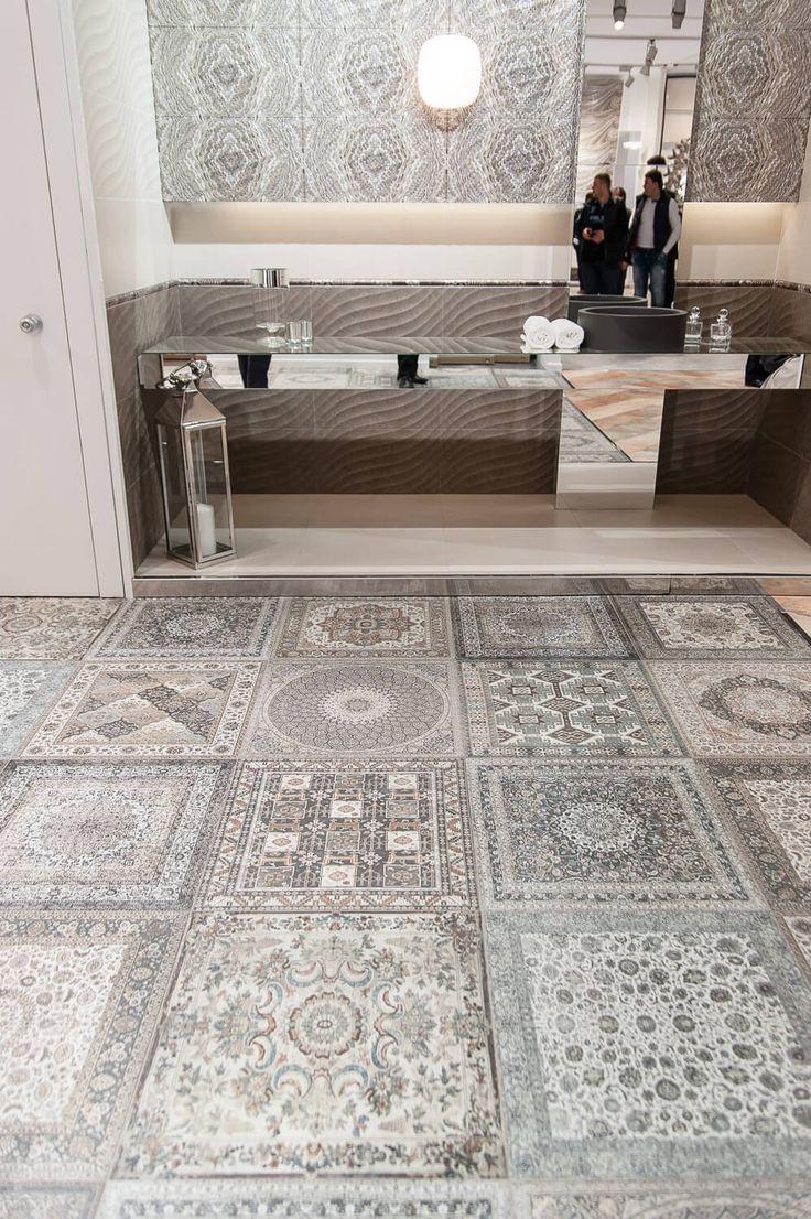 Персидские мотивы от #Aparici на #Cevisama2016  #casadelux #magazine #tiles #design