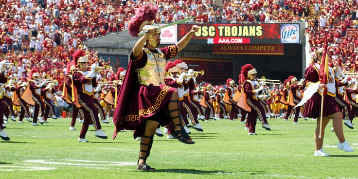 We play at every USC Football game, home or away. [photo: Brett Padelford]