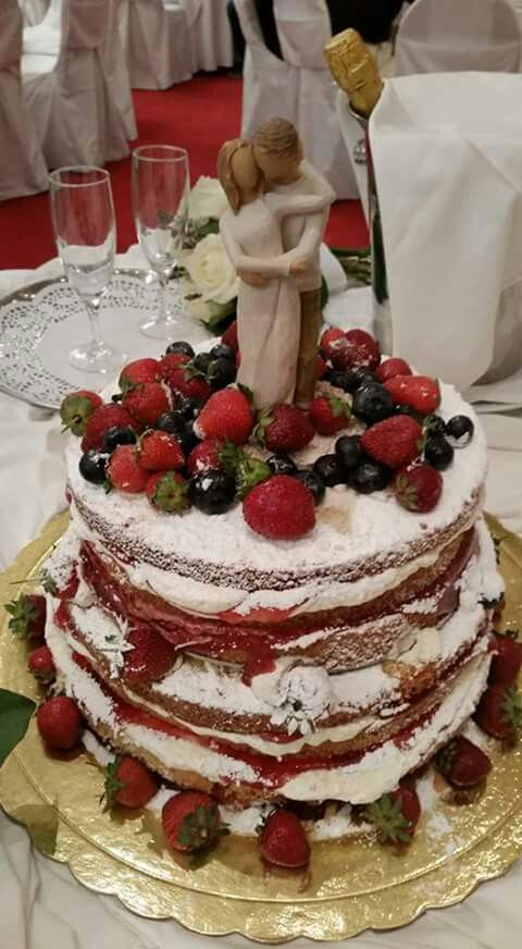 Wedding naked cake!!!