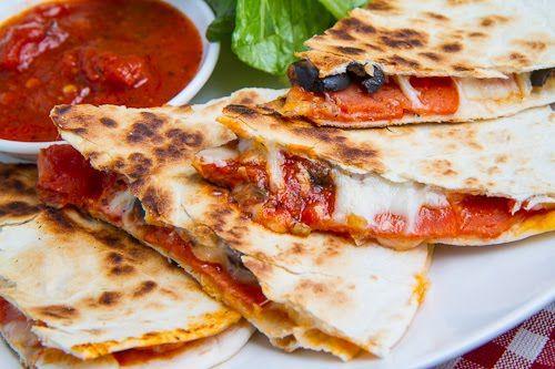 Pizza Quesadillas (aka Pizzadillas)
