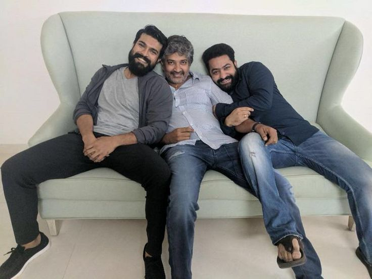 Rumors are making rounds that Jr. NTR and Ram Charan may finally share screen space together under the direction of ace director SS Rajamouli. Reports suggest that the script work for the same is in progress.  It all started with SS Rajamouli sharing a picture of himself with NTR and Ram Charan through his Twitter handle.   #Ajith #Allu Arjun #director SS Rajamouli #Jr. NTR and Ram Charan #tollywood #Vijayendra Prasad