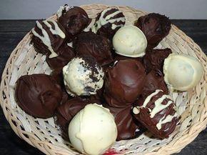 Σοκολατάκια πανεύκολα ΜΟΝΟ με 2 υλικά !!! ~ ΜΑΓΕΙΡΙΚΗ ΚΑΙ ΣΥΝΤΑΓΕΣ