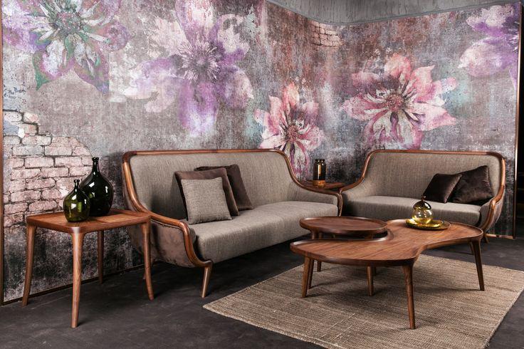 #wallpaper #cartadaparati #bedroom #decor #decoration #homestyling #homedercor #interiordesigner #interiordecorator #archilovers #designlovers #flowers #floral #rustic  #eclettico #shabbychic