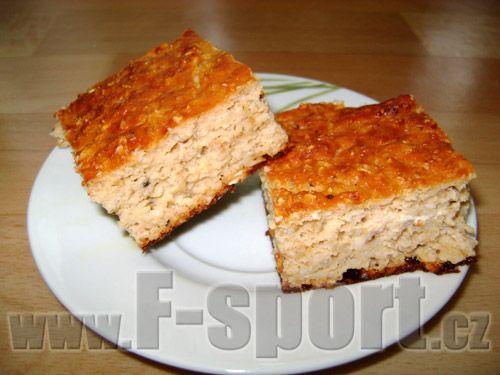 Recept - Kefírovo proteinová buchta