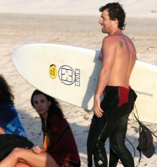 Rodolfo Sancho y Xenia Tostado, fotos de vacaciones