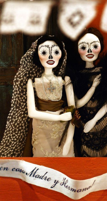 Day of the Dead dolls.