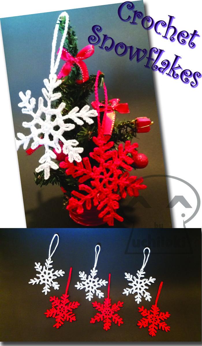 By Uchiloki: Crochet Snowflakes PRODUCCION PROPIA