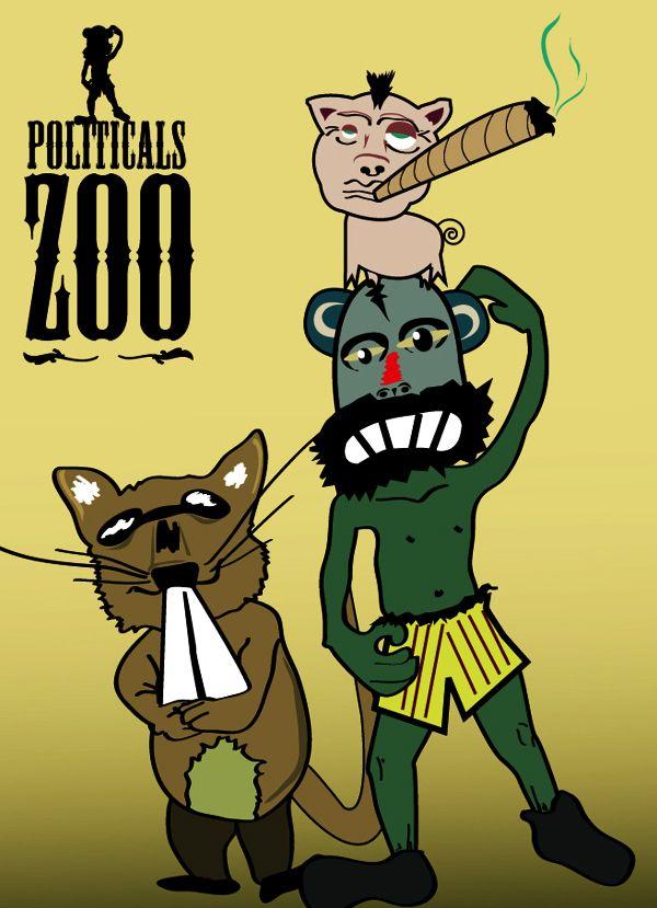 Cartoon Animal Humor. Diseño de Personajes