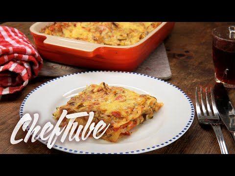 Como Cocinar Lasana De Calabacin Sin Carne - Receta en la descripción - YouTube
