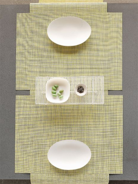 chilewich mini basketweave placemats and runner housewares know your place calgary herald