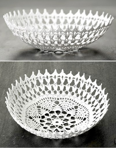 Love this crochet bowl