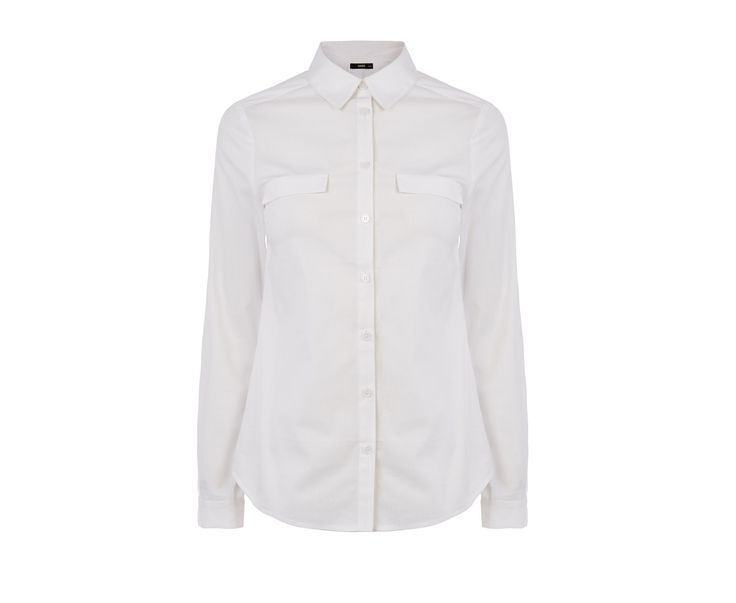 Oasis, Workwear Shirt White 0