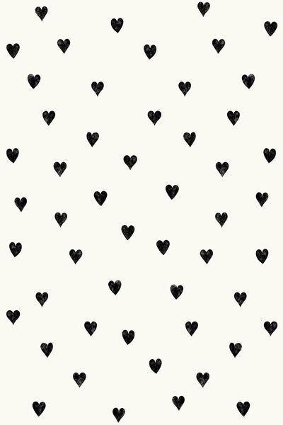 print | hearts