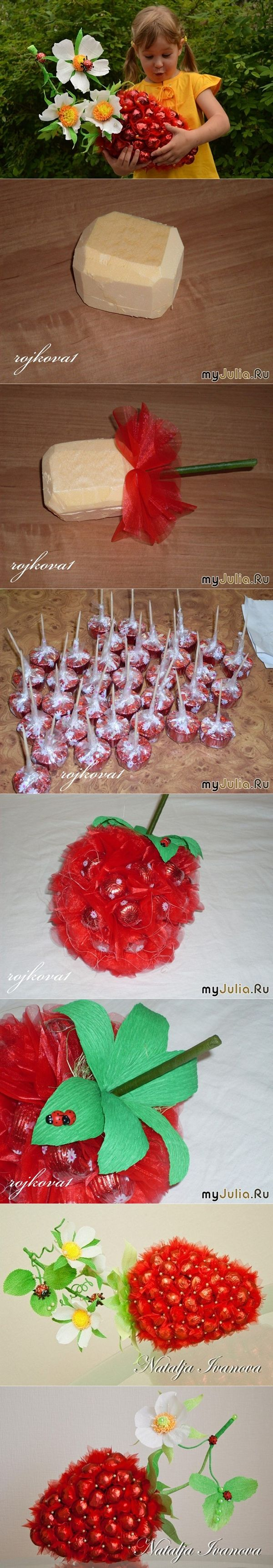chocolate strawberry tutorial