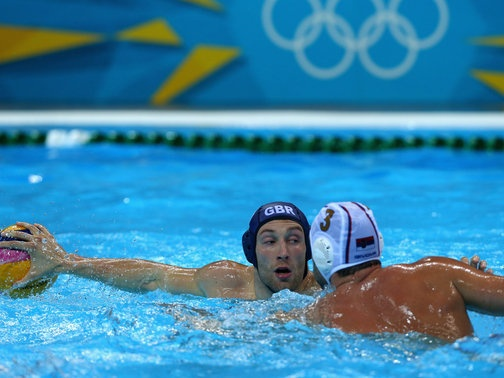 Rob Parker GB water polo team