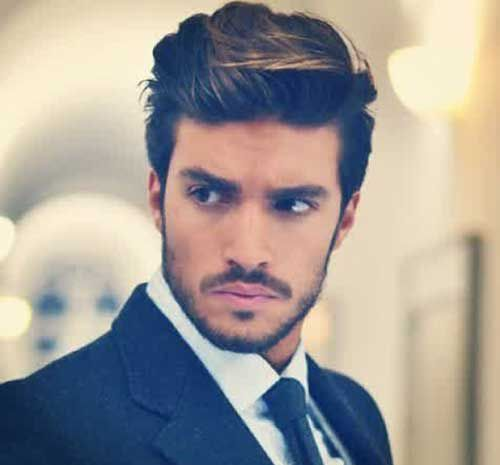 7 best Men\'s cuts thick hair images on Pinterest | Man\'s hairstyle ...