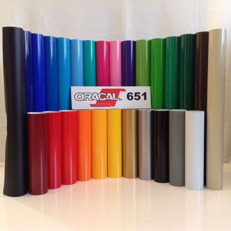 """12"""" Oracal 651 Adhesive Vinyl (Craft hobby/sign maker/cutter), 15 Rolls@ 5' Ea. in Crafts, Scrapbooking & Paper Crafts, Scrapbooking Tools 