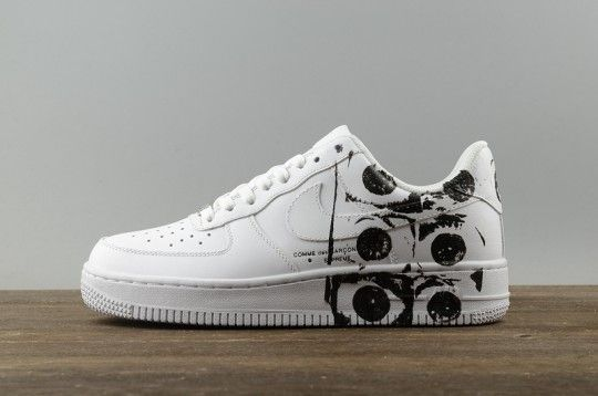 quality design cb675 4c4a0 Nike Air Force 1 Low X Supreme X Commes Des Garcon White Cdg ...