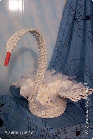 Свит-дизайн 8 марта Плетение К 8 марта Бумага гофрированная Продукты пищевые Трубочки бумажные фото 1