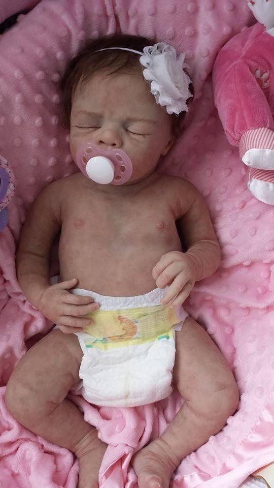 Silicone full body baby girl Tyler