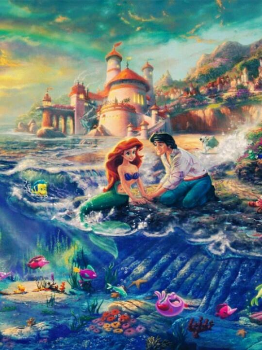 75 Best Little Mermaid Drawings Images On Pinterest