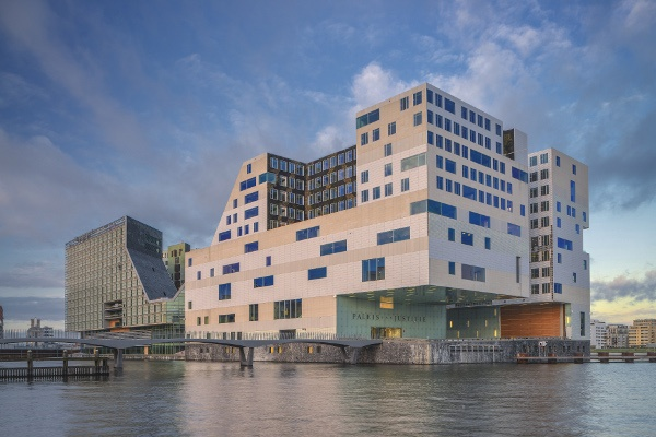 Paleis voor Justitie  Design: Claus en Kaan Architecten  Commissioner: ASR Vastgoedontwikkeling, Rijksgebouwendienst
