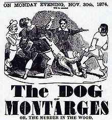 The Dog of Montarges - Wikipedia, the free encyclopedia. example of canine melodrama by Rene Charles Guilbert de Pixerecourt. Modern  film examples include Balto and Homeward Bound.