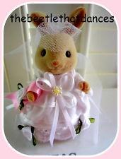 Sylvanian Families Clothes-Wedding dress For MUM Rabbit & Similar Sized Figures