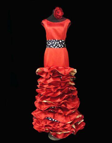 Vestido Marta, alta costura en doble raso bicolor de seda
