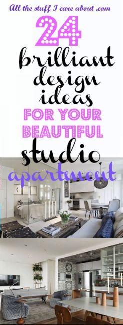 24 brilliant design ideas for your beautiful studio apartment. Interiors. Interior design. Modern apartment. Cosy studio.