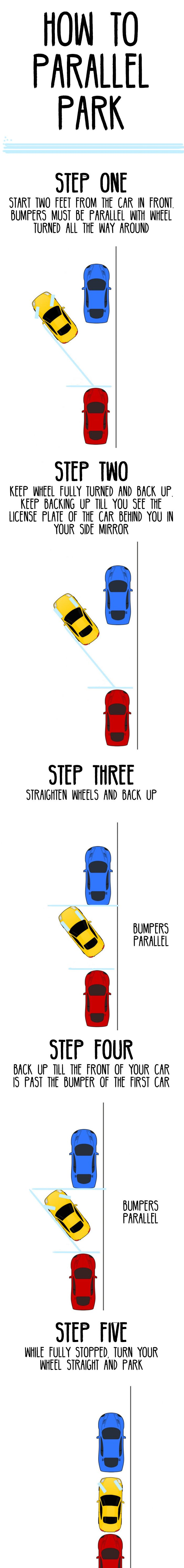 How to parallel park life hack