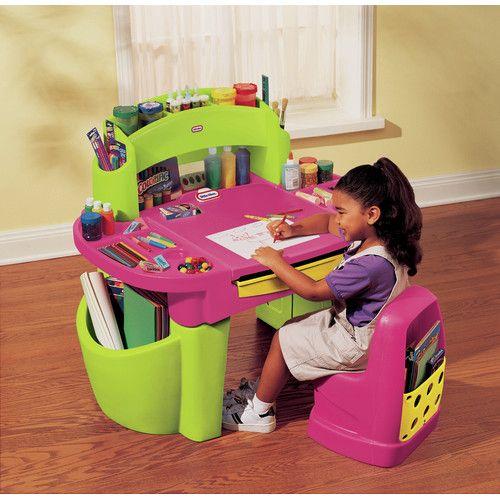 32 best toddler art desk with storage images on pinterest. Black Bedroom Furniture Sets. Home Design Ideas