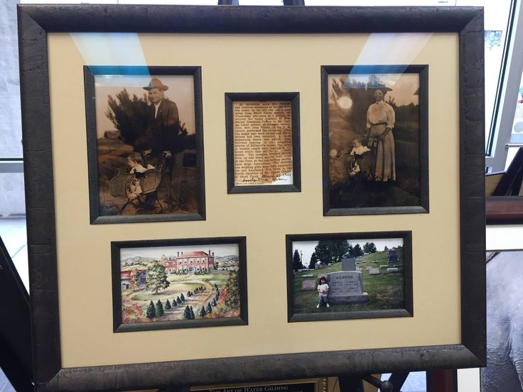 Fillets are used to create an additional frame around the picture. These beautiful, vintage, family photos are surrounded by a fillet giving the entire piece more depth and uniqueness.  From #Fastframe #CarsonCity